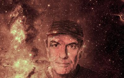 Klaus Fiehe im Planetarium