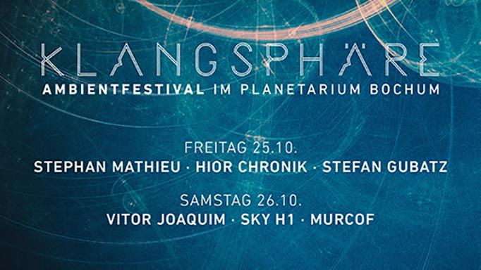 Line-Up Klangsphäre Festival 2019